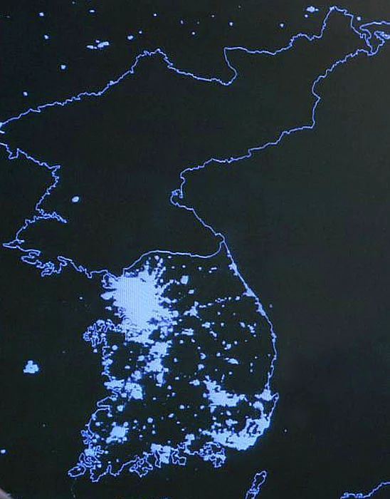 Korea from Space
