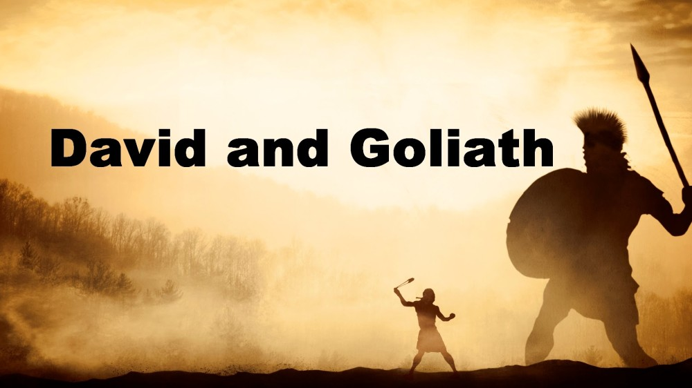 Blog David and Goliath